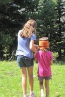 Activitat d'educació ambiental al bosc